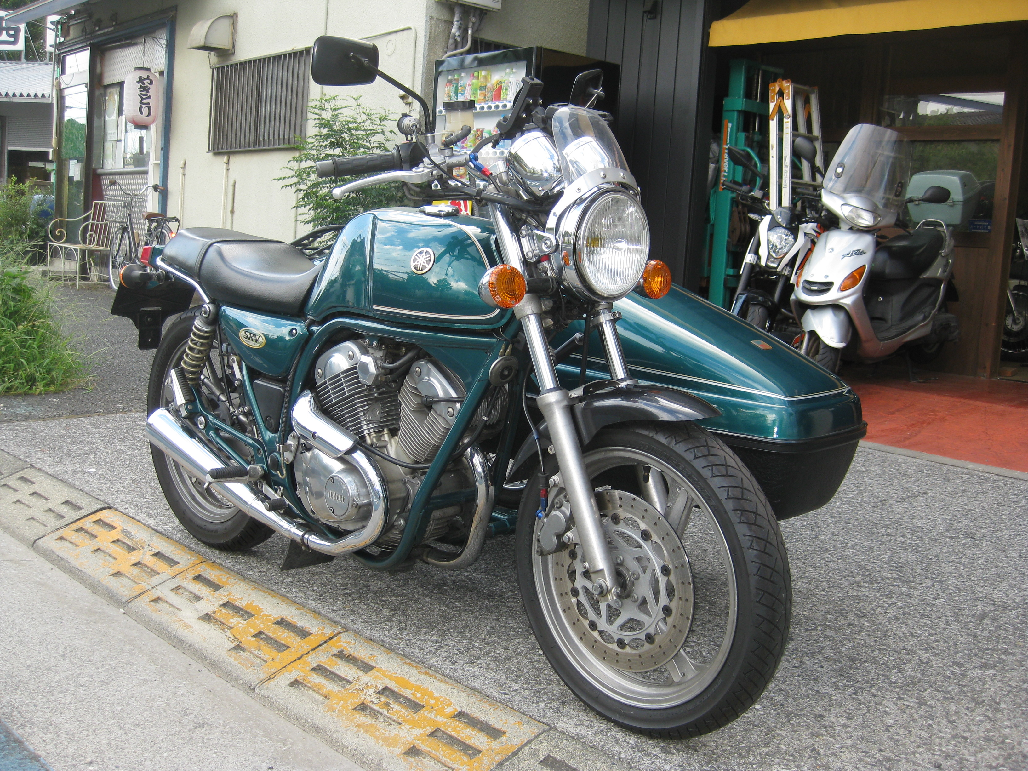 ご紹介 YAMAHA SRV 250+ベロレックス(KENTEC) photo03